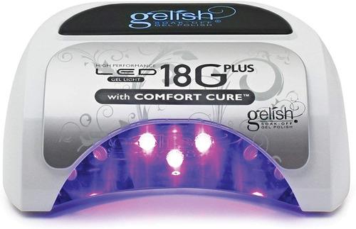 Imagen 1 de 3 de Lámpara Gelish 18g Plus Profesional De Uñas  Gel Secador