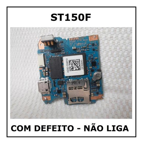Câmera Máquina Digital Samsung St150f - Placa Mãe C/ Defeito