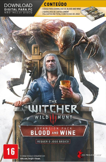 The Witcher 3 - Wild Hunt - Blood & Wine - Pacote De Expansã