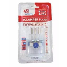 Clamper Pocket 3 Pinos - Protetor Dps Raios Surtos