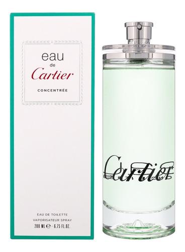 Perfume Cartier Eau Concentre 200ml H - L a $147950