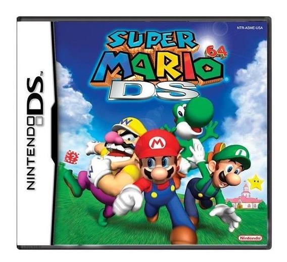Super Mario 64 Ds Mídia Física Pronta Entrega