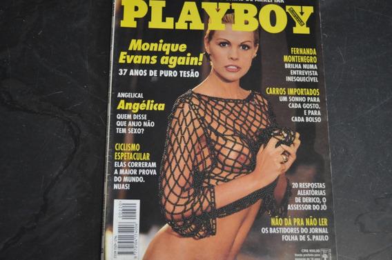 Playboy 220 Monique Evans Revista