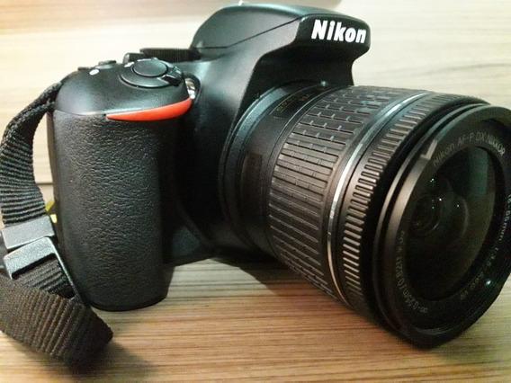 Câmera Dslr Nikon D3500 (com Bag E Cartão De Mem. Inclusos)