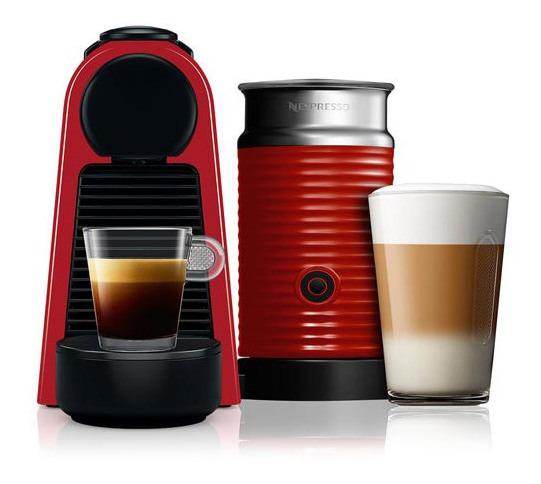 Cafeteira Nespresso Combo Essenza Mini Vermelho A3nrd30-br