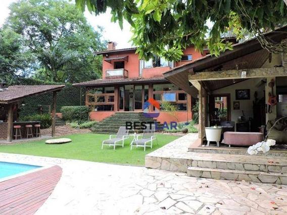 Casa Com 4 Dormitórios À Venda, 500 M² Por R$ 1.475.990 - Paisagem Renoir - Cotia/sp - Ca0952