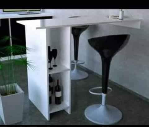 Imagen 1 de 5 de Barra Desayunador Mesa Para La Cocina ! 150cm