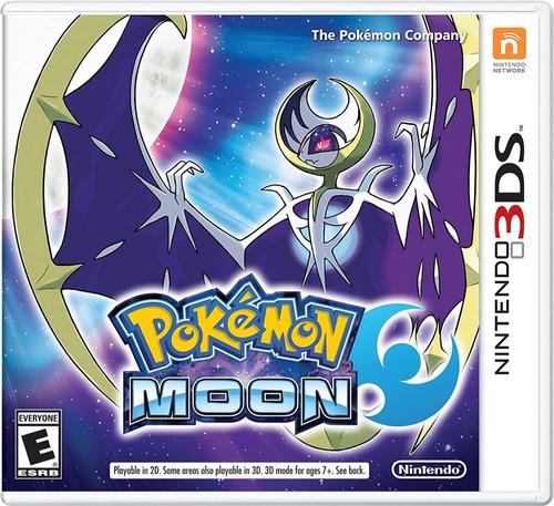 Imagen 1 de 5 de Pokemon Moon Nintendo 3ds Juego Original Fisico Sellado!!