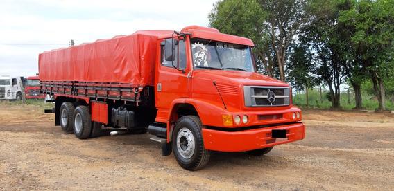 Mercedes Benz Mb 1620 Truck Carroceria Graneleira Motor Novo