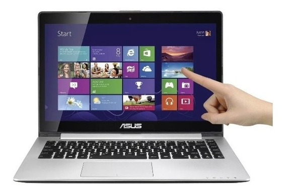 Notebook Asus S400c Dual Core 8gb 500gb Touchscreen 14 Led