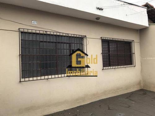 Casa Com 2 Dormitórios À Venda, 73 M² Por R$ 191.000 - República - Ribeirão Preto/sp - Ca0798