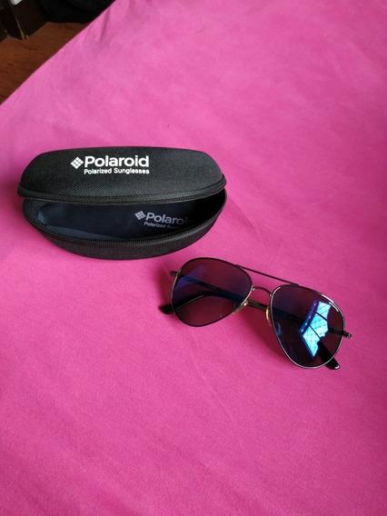 Óculos Polaroid Azul