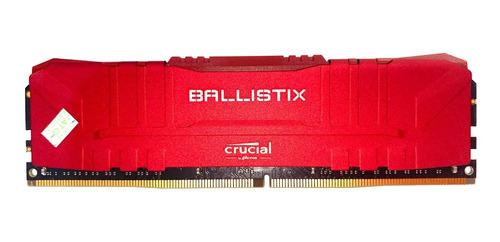 Mem Crucial Ballistix 16gb 3000mhz Ddr4 Bl16g30c15ur4-c/nota