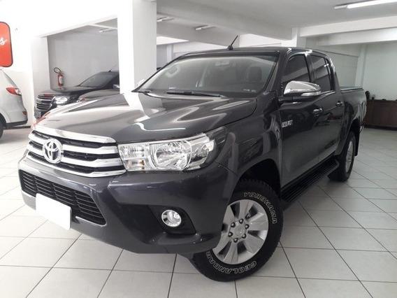Toyota Hilux 2.8 Srv Cinza 4x4 Cd 16v Diesel 4p Aut. 2016