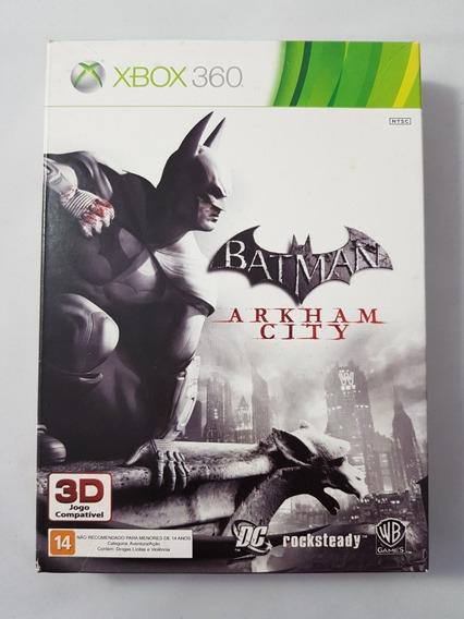 Batman Arkham City + Hq Completo Xbox 360 Mídia Física