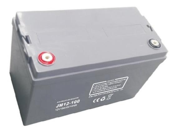Bateria Agm Gel 12v 100ah Solar Ups Ciclo Profundo C/envio