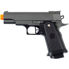 Pistola Airsoft Spring G10 1911 Baby Full Metal 6mm - Galaxy