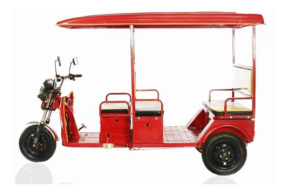 Triciclo Elétrico De Passageiro - Tuk Tuk