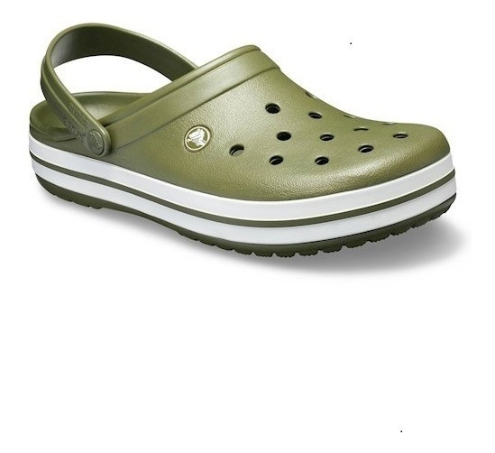 Crocband Original Army Green Crocs (verde Exerc)