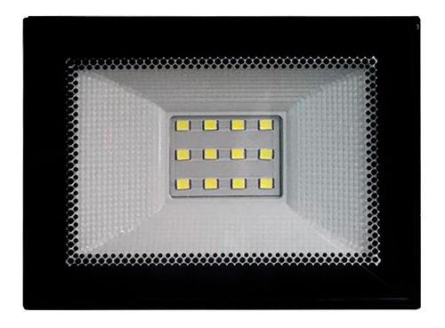 Foco Led Liper 10w Luz Fría Para Interior Y Exterior Loi