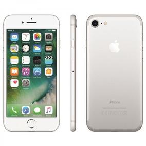 iPhone 7 Prateado Tela 4,7 4g 32 Gb Câmera 12 Mp