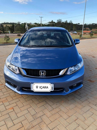 Imagem 1 de 9 de Honda Civic 2016 2.0 Lxr Flex Aut. 4p