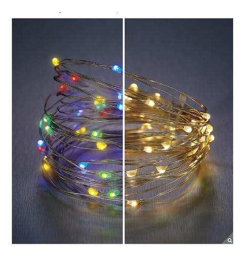 Imagen 1 de 7 de Micro Luces Led Con 8 Funciones. 4 Conjuntos