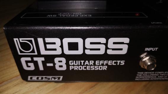 Pedaleira Para Guitarra - Boss Gt-8