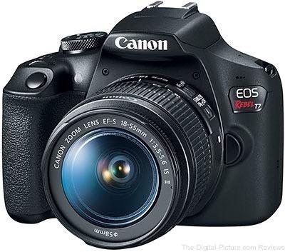 Câmera Canon Eos T7+18-55 Ii Revenda Autorizada Garantia Nfe