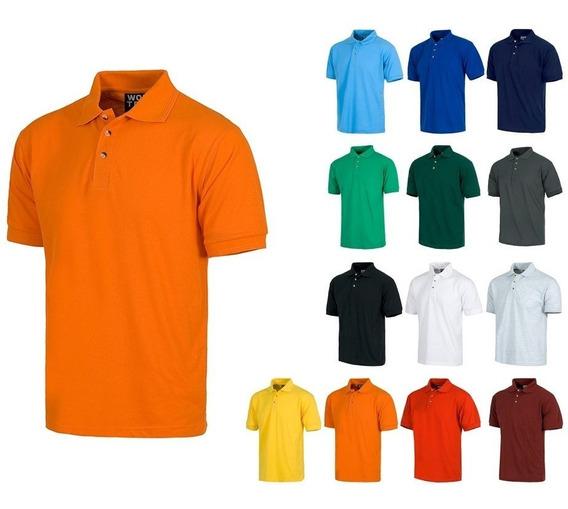 Playera Polo Mas Mandil Mas Gorra En 12 Colores 3 Pzas. Nara