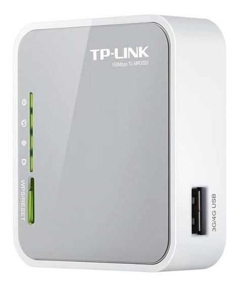Roteador Tp-link Tl-mr3020 300mbps Usb Modem 3g 4g
