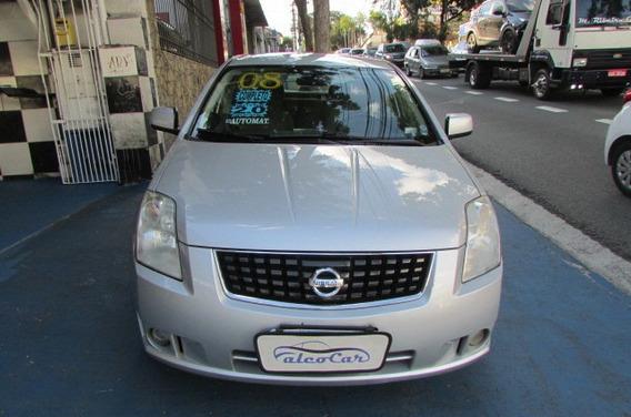 Nissan Sentra 2.0 S / Completo / Automático / 2008