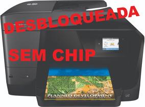 Multifuncional Hp 8710 Com Bulk Ink Reserv. 250ml Cada Cor