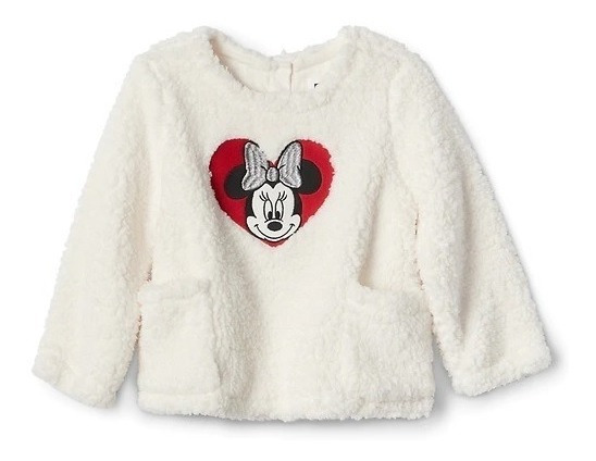 Pullover Blusa Gap Kids Minnie
