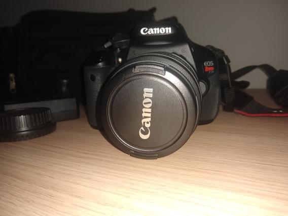 Câmera Canon T3i Seminova + Lente 18-55 Mm Com 9152 Cliks
