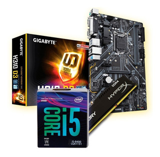 Actualizacion Gamer Pc Intel I5 8400 + 8gb + B360 Cuotas