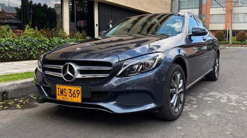 Mercedes Benz C 180 ,2016, Gris Oscuro, 1.6cc, 40.000 Km.