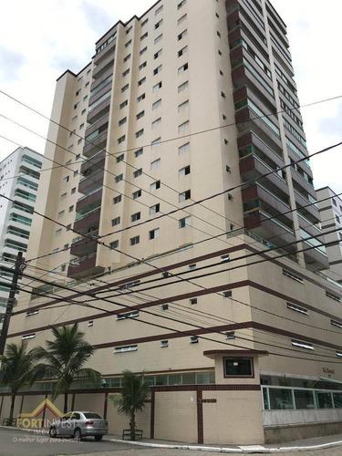 Imagem 1 de 22 de Apartamento Com 3 Dormitórios À Venda, 126 M² Por R$ 650.000,00 - Ocian - Praia Grande/sp - Ap2502