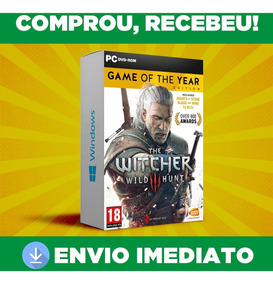 The Witcher 3 - Pc - Goty + Dlc E Exp Português- Envio 0 S