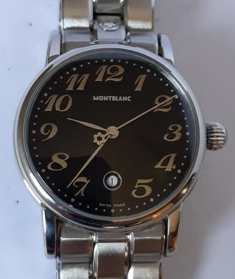 Relógio Montblanc Star Feminino 32mm Original 12x Sem Juros