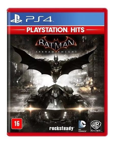 Batman Arkham Knight Ps4 Mídia Física Nacional Lacrado Rj