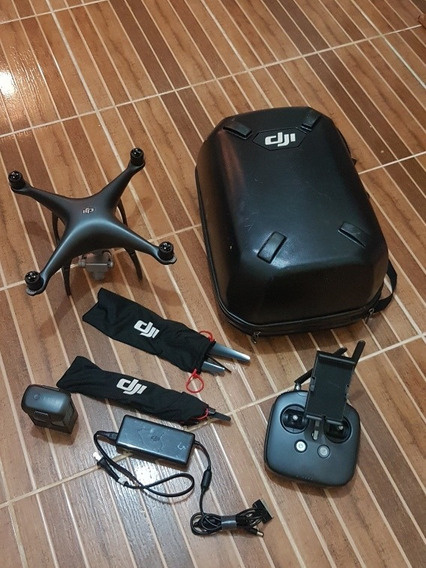 Drone Phantom 4 Pro Obsid. 1 Bat+ 2 Jg Hélice+ Mochila