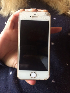 iPhone 5s Gold 16gb Usado