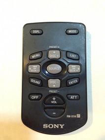 Controle Remoto Som Automotivo Sony - Rm - X114