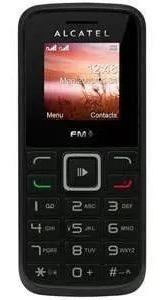 Celular Alcatel 1011 Preto Rádio Fm, Lanterna [vitrine]