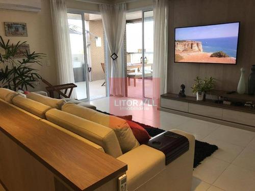 Imagem 1 de 15 de Cobertura Com 2 Dormitórios À Venda, 156 M² Por R$ 970.000,00 - Centro - Itanhaém/sp - Co0005