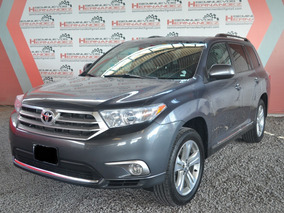 Toyota Highlander Base Premium Sport Aa Qc Piel At Gris