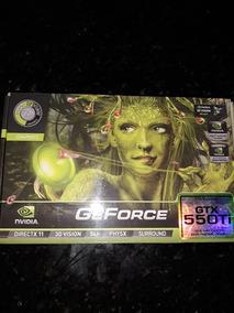Placa Video Geforce Gtx550ti 1024 Mb Memoria Gddr5/dvi/hdmi/