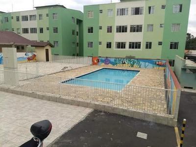 Apartamento Em Sabiá, Araucária/pr De 59m² 3 Quartos À Venda Por R$ 215.000,00 - Ap231970