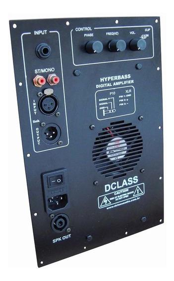 Kit Dclass P/ Ativação De Caixas Sub Graves 700 Watts Rms